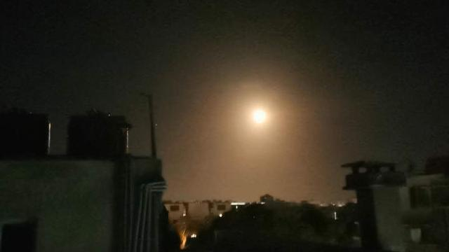 Fongming Cable Israeli Air Strikes on Syrian Capital Damascus